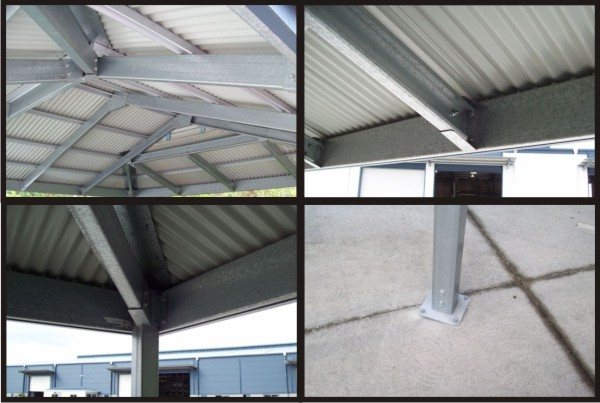 Roof Sheets Carport Designs And Steel Structure On Pinterest