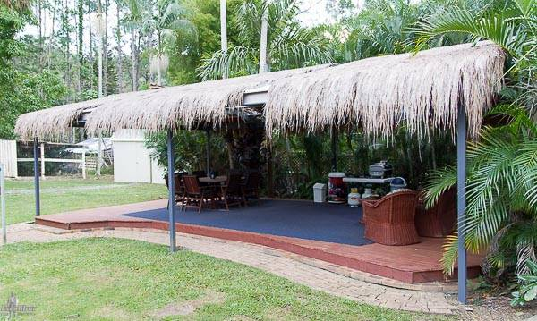 Gable Bali Hut Carport