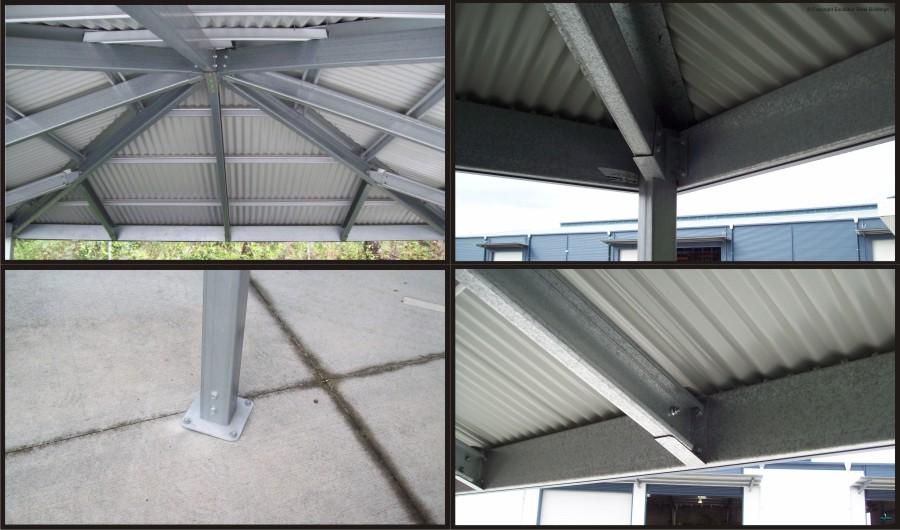Hip Roof Carport - Structure