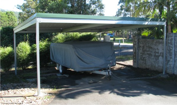 Skillion Carport Kits
