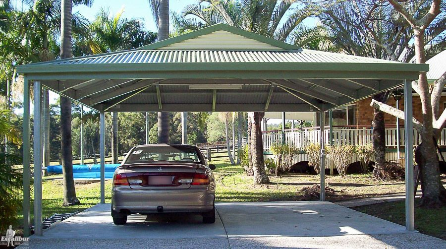 Colorbond Dutch Gable Carport 2