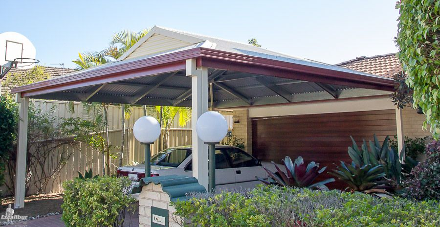 Dutch Gable 2 Car Carport Kit