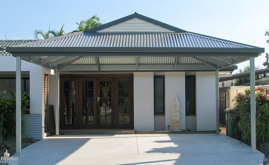 gable roof carport price