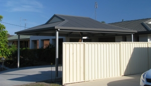 Double Carport Kit with Dutch Gable