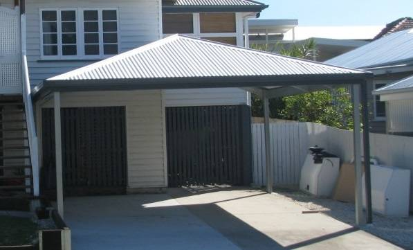 Hip Roof Carport Kits